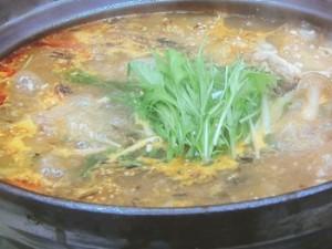 焦がしネギの辛味噌鍋