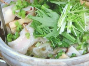 大根使いきり!豚肉とハムギョーザ鍋