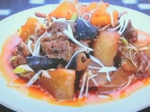 もこみち流 牛肉と大根のピリ辛煮