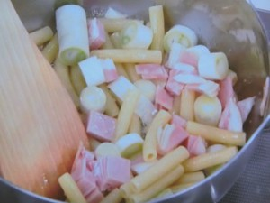 マカロニのクリーム煮