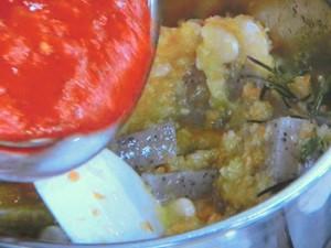 トリッパ風こんにゃくのトマト煮
