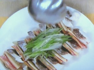 鯛の麒麟(きりん)蒸し