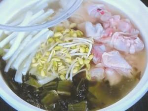 鶏と高菜の鍋