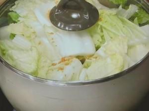 たらと白菜のクリームシチュー