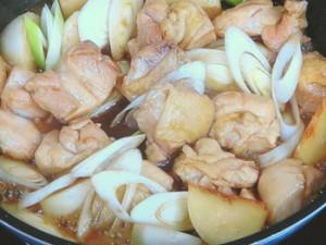 鶏モモ肉とカブの焼きびたし
