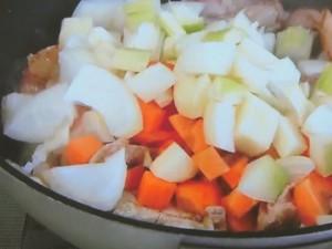 もこみち流 豚肉の雑穀スープ