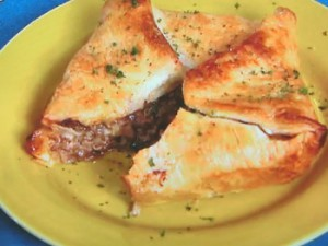 ラム肉のミートパイ