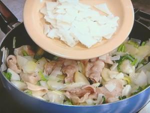 冬野菜と豚バラのもちグラタン