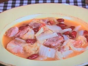 豚肉といんげん豆のシチュー