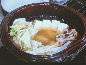 鶏手羽と白菜の飛鳥鍋
