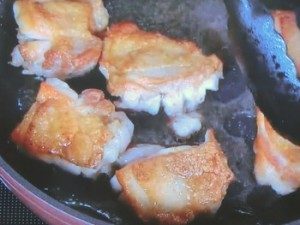 鶏と白菜のソテー