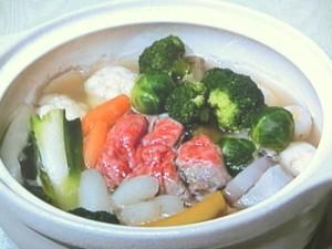 牛肉と根菜のポトフ