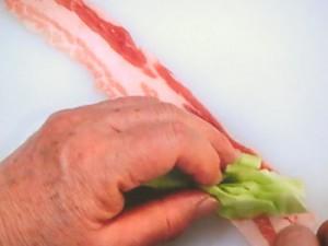 野菜たっぷり肉巻き弁当