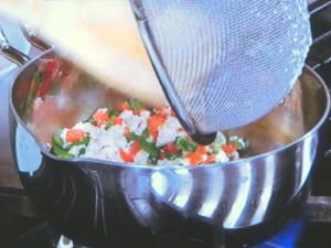 いりハム豆腐