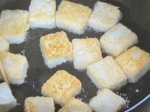 豆腐の肉あんかけ