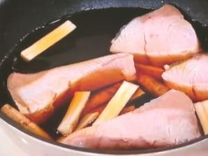 フライパンで!ぶりの煮つけ