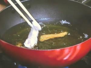 スティック鶏竜田甘ねぎ梅肉ソース