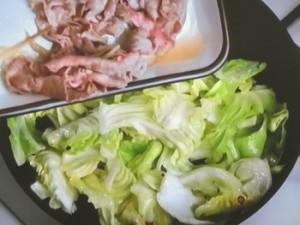キャベツと豚肉の塩炒め