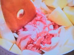 ケチャップ肉じゃが