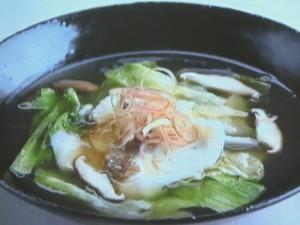 鯛とレタスのさっと煮