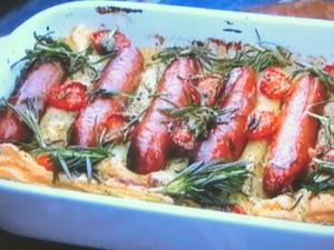 もこみち流 ソーセージとトマトのパイ