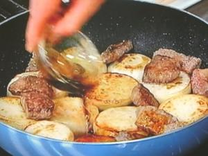 牛肉とかぶのステーキ