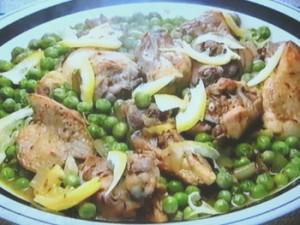 もこみち流 鶏肉とグリーンピースのクミン炒め