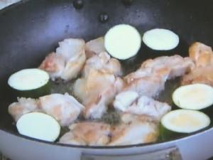 もこみち流 鶏肉のグリーンカレー