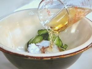 たこときゅうりの酢の物