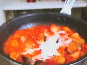 もこみち流 ツナとなすのトマトクリームパスタ