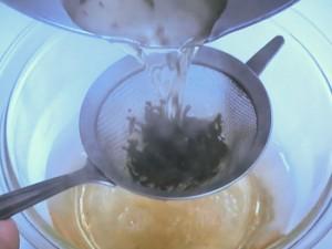豚キムチの茶漬け