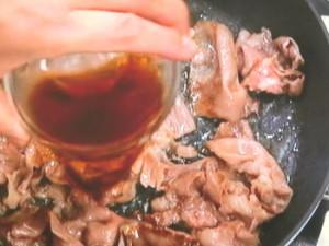 赤ワイン酢飯の牛丼