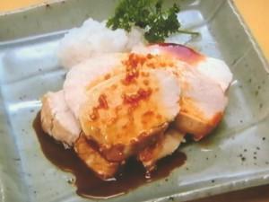 鶏の酢生姜照り焼き