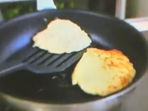 もこみち流 ポテトパンケーキのワンプレート