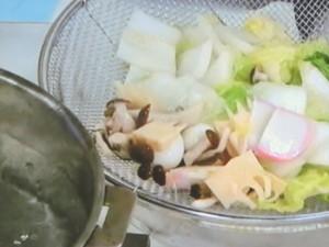 シャキシャキ野菜で八宝菜