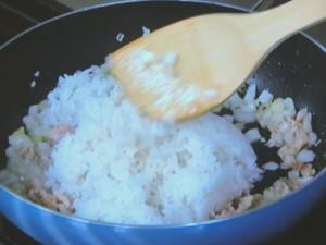 パクチー焼き飯