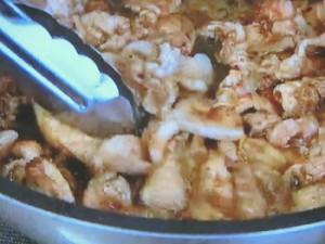 もこみち流 山椒入り豚肉のしょうが焼き