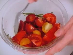 ハムのフレッシュ・トマトソース