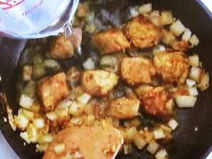豚肉とひよこ豆のカレー