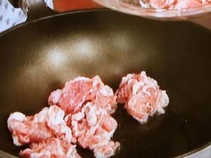 豚肉と長芋のチリソース煮