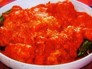 肉詰めハラペーニョのトマト煮