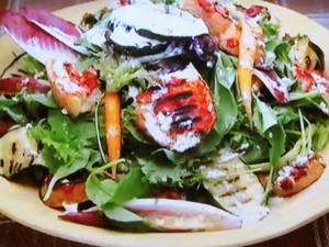 もこみち流 バゲットのグリルサラダ