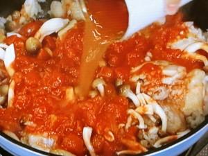超簡単!ご馳走鶏肉のトマト煮込み