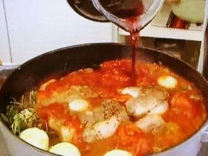 もこみち流 牛テールの赤ワイン煮込み
