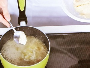 おからニョッキのスープ