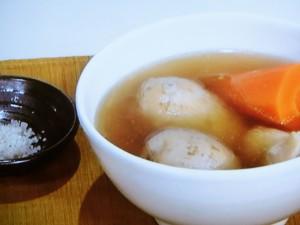 里芋と鶏肉のシチュー