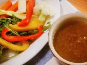 野菜のバーニャカウダソース