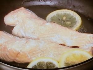 鮭とブロッコリーのポテトサラダ