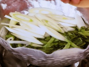 ケールのうまみ鍋