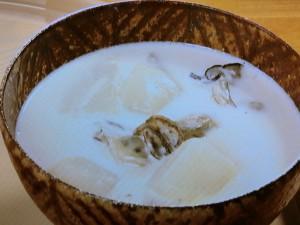 里芋とかぶのクリームシチュー